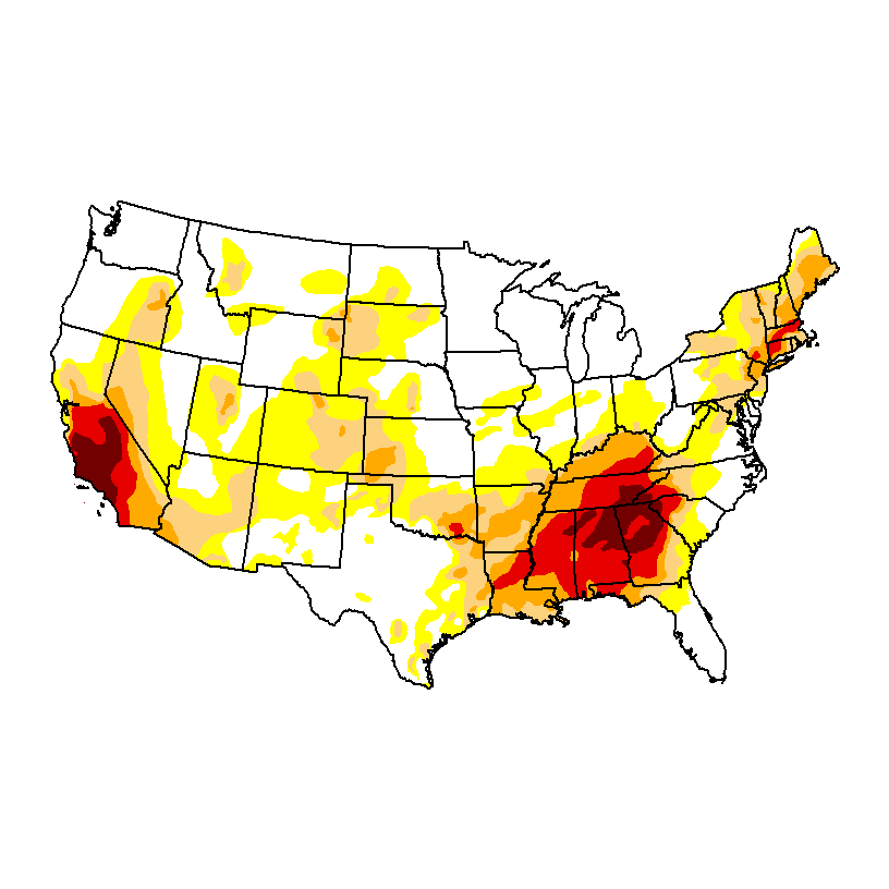 This is the drought map from a couple weeks ago. h/t http://droughtmonitor.unl.edu/