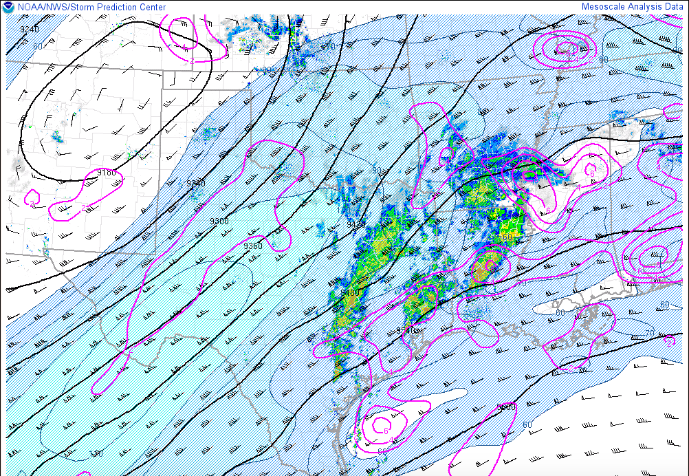 The 300 mb analysis this morning. h/t SPC
